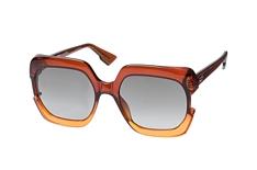 Dior Diorgaia 12J, Butterfly Sonnenbrillen, Braun