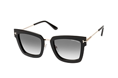 Tom Ford Lara-02 FT 0573/s 01B, Square Sonnenbrillen, Schwarz