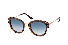 Tom Ford Mia-02 FT 0574/s 52P, Butterfly Sonnenbrillen, Havana