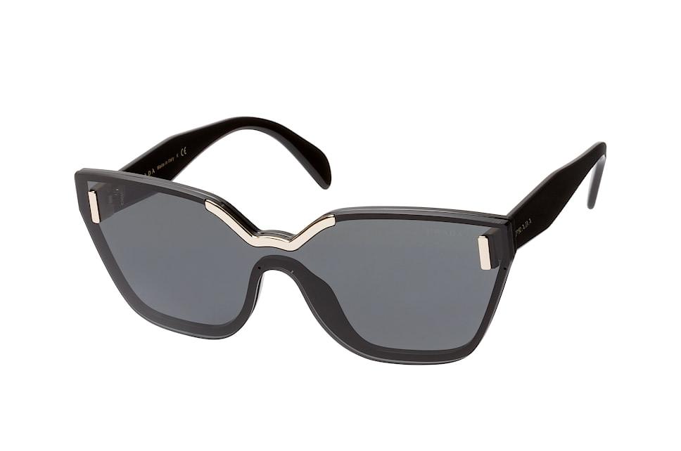 PR 16Ts 1Ab-5S0, Singlelens Sonnenbrillen, Schwarz