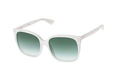 Gucci GG 0022S 004, Butterfly Sonnenbrillen, Weiss