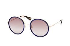 Gucci GG 0061S 005, Round Sonnenbrillen, Blau