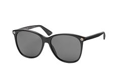 Gucci GG 0024S 001, Square Sonnenbrillen, Schwarz