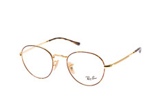 Ray-Ban RX 3582V 2945small, Round Brillen, Goldfarben
