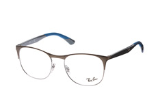 Ray-Ban RX 6412 2620 large, Square Brillen, Grau