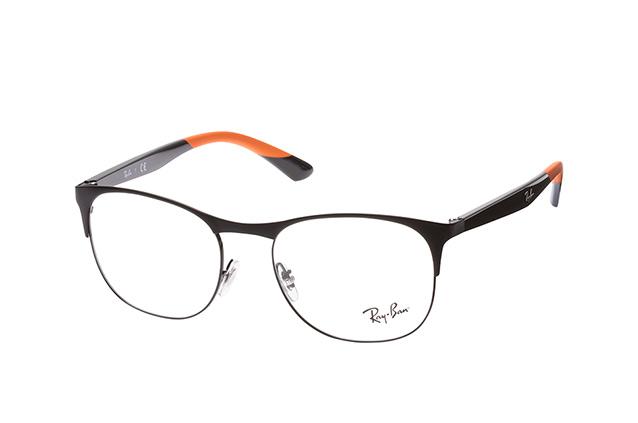 RAY BAN RAY-BAN Herren Brille » RX6412«, schwarz, 2904 - schwarz