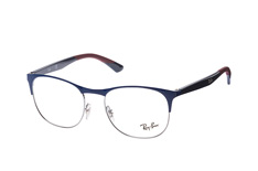 Ray-Ban RX 6412 2967 large, Square Brillen, Blau