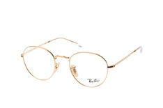 Ray-Ban RX 3582V 2500small, Round Brillen, Goldfarben