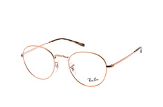 Ray-Ban RX 3582V 2943 small, Round Brillen, Goldfarben