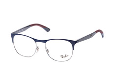 Ray-Ban RX 6412 2967 small, Square Brillen, Blau