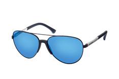 Emporio Armani EA 2059 3202/55, Aviator Sonnenbrillen, Blau