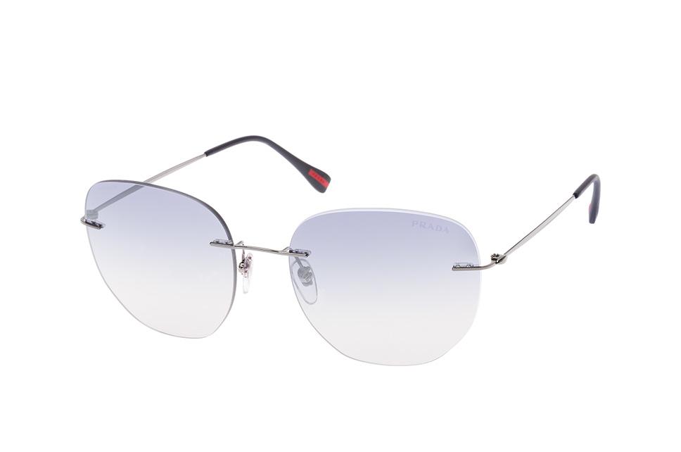 Linea Rossa PS 50Ts 5Av-5R0, Round Sonnenbrillen, Silber