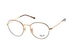 Ray-Ban RX 3582V 2945 large, Round Brillen, Goldfarben