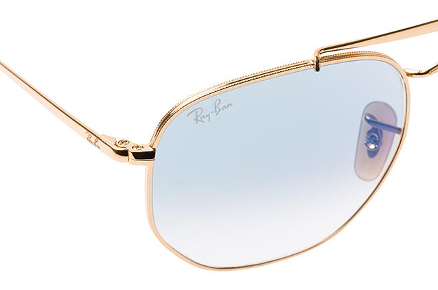 Ray-Ban The Marshal RB 3648 001/3F L perspective view