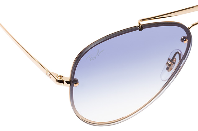 Ray-Ban Blaze RB 3584-N 001/19 small vista en perspectiva