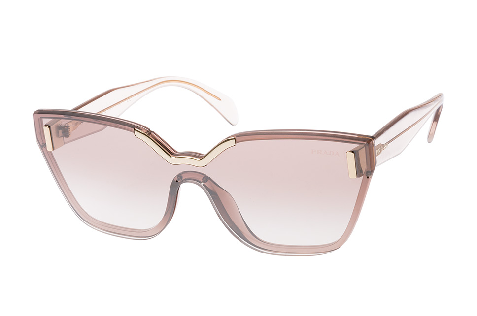 PR 16Ts Vit-4O0, Singlelens Sonnenbrillen, Rosa