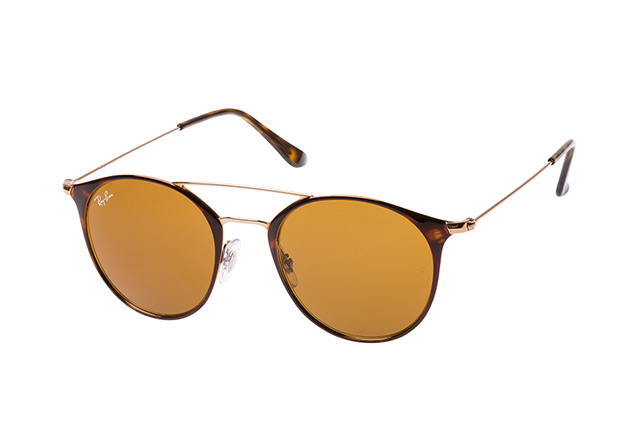 RAY BAN RAY-BAN Sonnenbrille » RB3546«, rosa, 9074 - rosa/braun