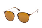 Ray-Ban RB 3546 9009/85 large Dorado / Havana / Marrón perspective view thumbnail