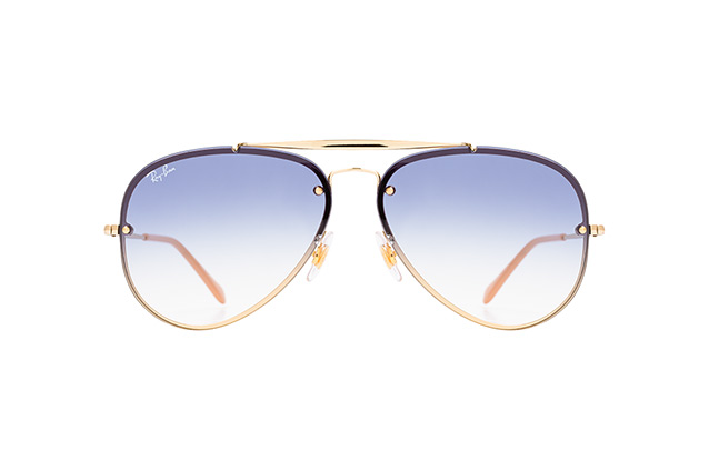 Ray-Ban Blaze RB 3584-N 001/19 large vista en perspectiva