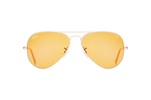 Ray-Ban Aviator large RB 3025 9064/4I vista en perspectiva