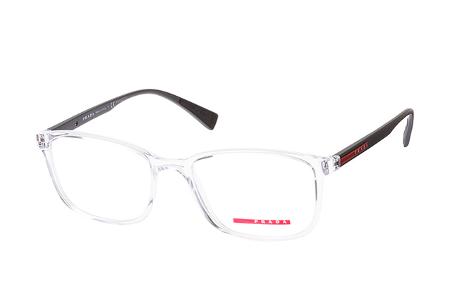 1e1f9e9c150d ... Glasses  Prada Linea Rossa PS 04IV 2AZ-1O1. null perspective view ...