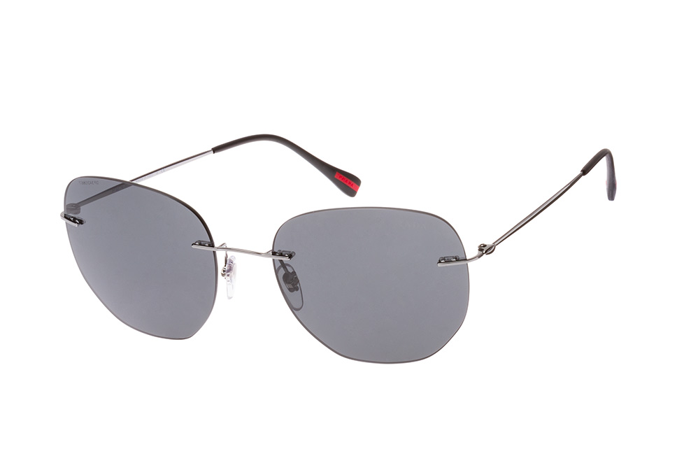 Linea Rossa PS 50Ts 5Av-5S0, Round Sonnenbrillen, Silber