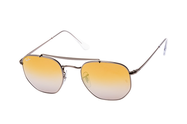 f2d97dc7b95ff ... Lunettes de soleil  Ray-Ban The Marshal RB 3648 004 I3 S. null vue en  perpective ...
