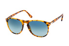Persol PO 9649S 1025/S3 Havana / Blauw perspective view thumbnail