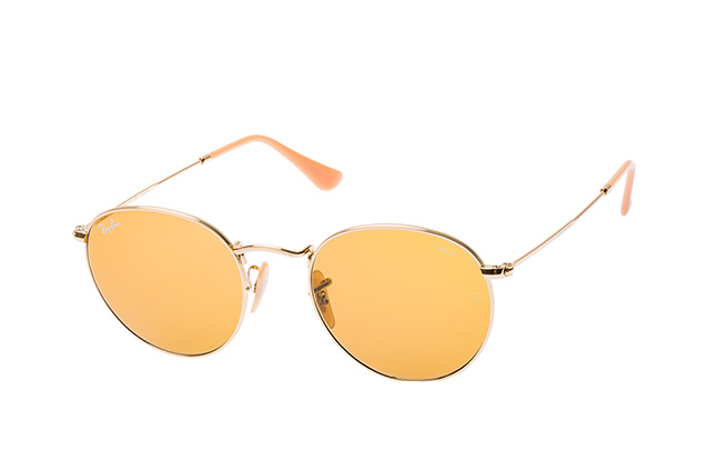 Ray-Ban Round Metal RB 3447 90644I Perspektivenansicht