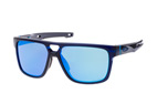 Oakley Crossrange Patch OO 9382 04 Blauw / Paars perspective view thumbnail
