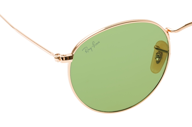 Ray-Ban Round Metal RB 3447 90644C perspective view