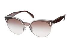PRADA Prada Damen Sonnenbrille » PR 15TS«, grau, VIP0A7 - grau/grau