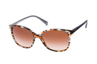 Prada PR 01OS CO565S1 Havana / Blue / Brown perspective view thumbnail