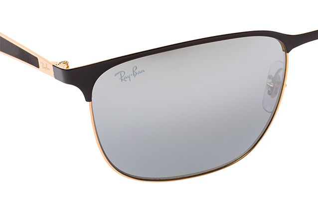 RAY BAN RAY-BAN Sonnenbrille » RB3569«, goldfarben, 187/88 - gold/silber