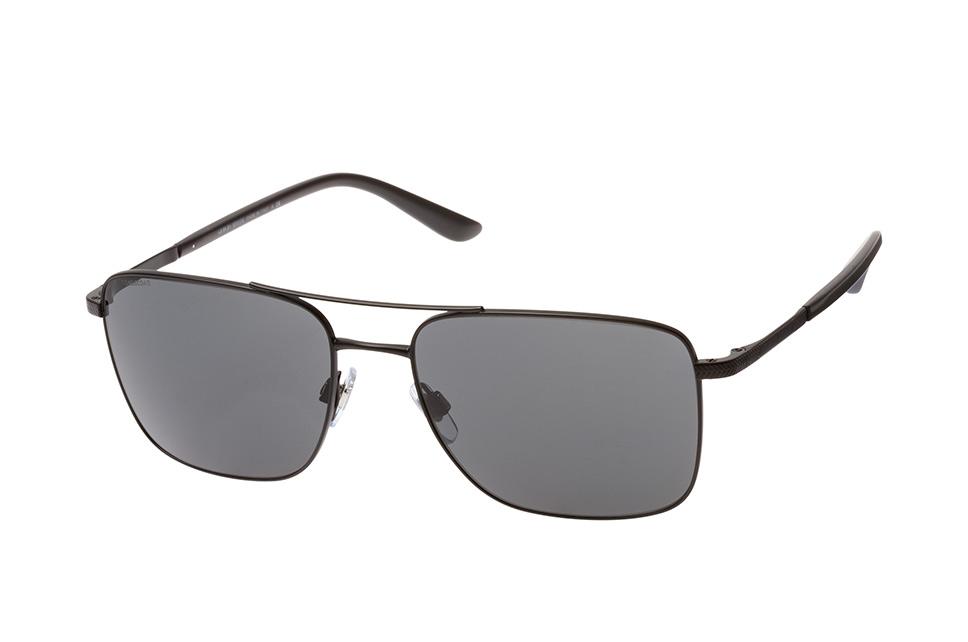 AR 6065 3001/87, Aviator Sonnenbrillen, Schwarz