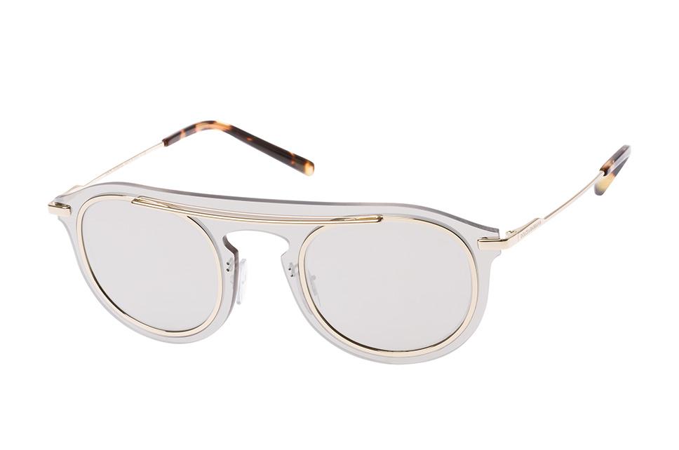 DG 2169 488/6G, Aviator Sonnenbrillen, Silber