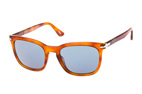 Persol PO 3193S 24/31 Havana / Marrón / Azul perspective view thumbnail