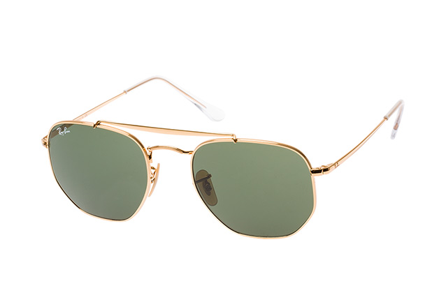 Ray-Ban The Marshal RB 3648 001 L Perspektivenansicht