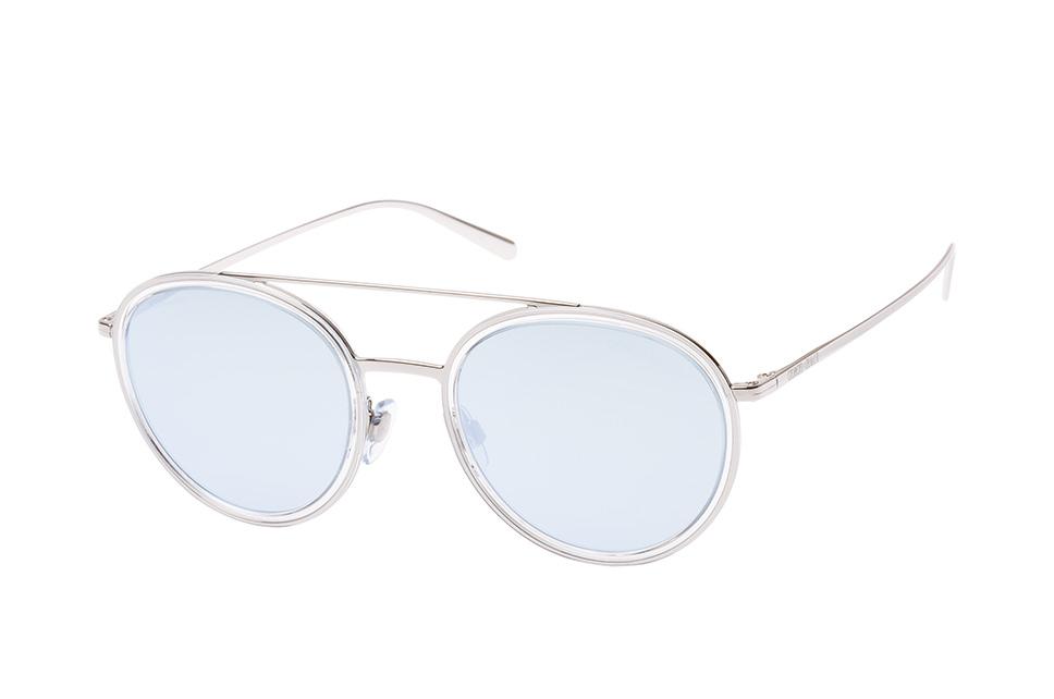 AR 6051 30156J, Aviator Sonnenbrillen, Transparent