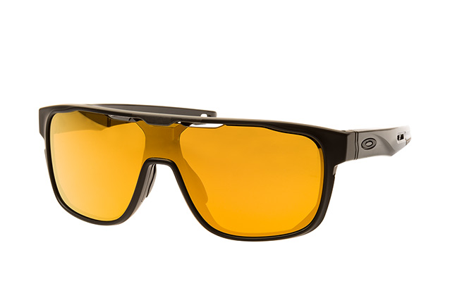 479cf190a4 ... Oakley Sunglasses  Oakley Crossrange Shield OO 9387 06. null  perspective view ...