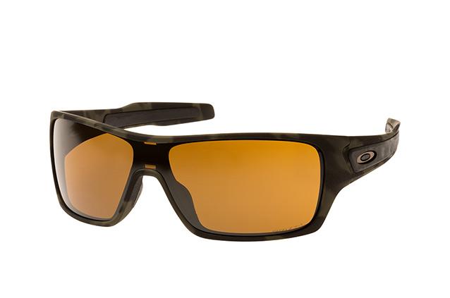 Oakley Herren Sonnenbrille »TURBINE ROTOR OO9307«, grün, 930717 - grün/braun