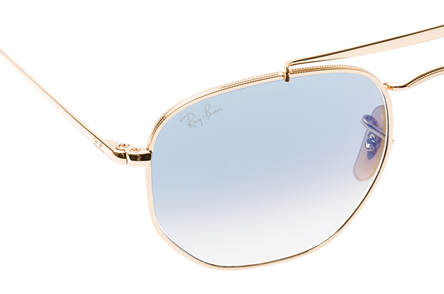 62df81a3b9dde0 ... Ray-Ban The Marshal RB 3648 001 3F S perspective view