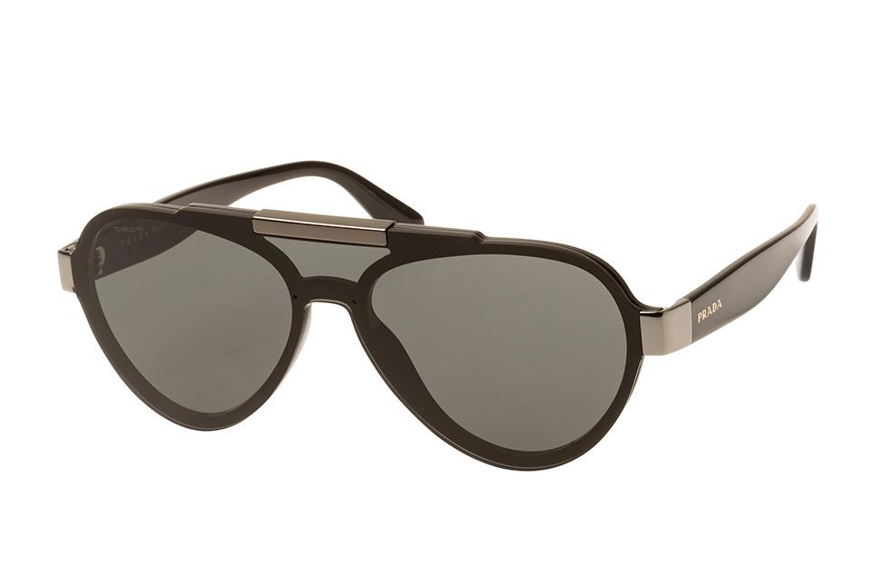 PR 01Us 1Ab-5S0, Singlelens Sonnenbrillen, Schwarz