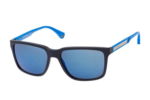 Emporio Armani Herren Sonnenbrille » EA4047«, blau, 565225 - blau/grau