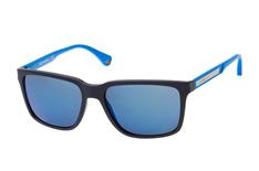 Emporio Armani EA 4047 565225, Square Sonnenbrillen, Dunkelblau auf Rechnung bestellen