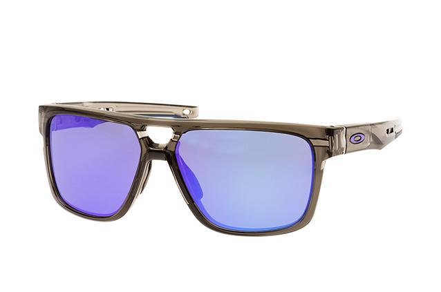 Oakley Crossrange Round Sonnenbrille Schwarz/Grau 6PmYb