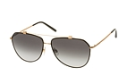 Dolce&Gabbana DG 2190 1296/8G Gold / Black / Gradient grey perspective view thumbnail
