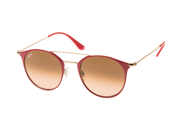 RAY BAN RAY-BAN Sonnenbrille » RB3546«, rosa, 907271 - rosa/ braun
