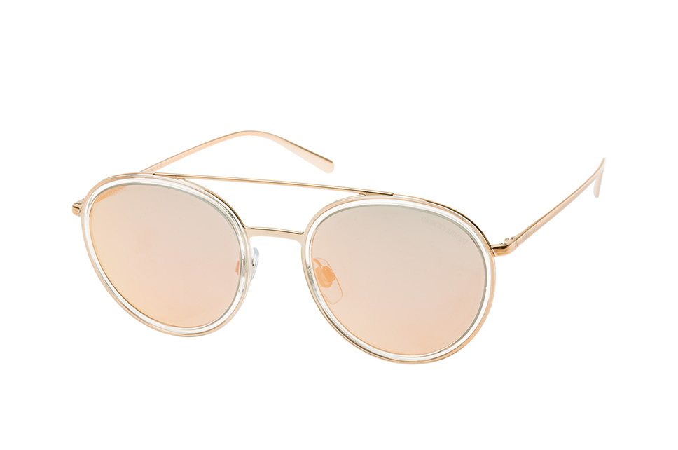 AR 6051 30114Z, Aviator Sonnenbrillen, Goldfarben