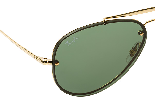 Ray-Ban Blaze RB 3584-N 9050/71 small Perspektivenansicht